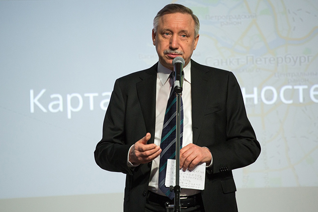 Александр Беглов, навигатор профессий