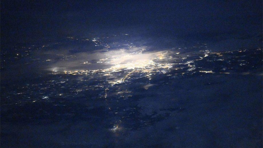 Санкт-Петербург из космоса