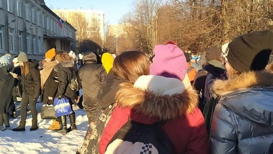 Эвакуация школ