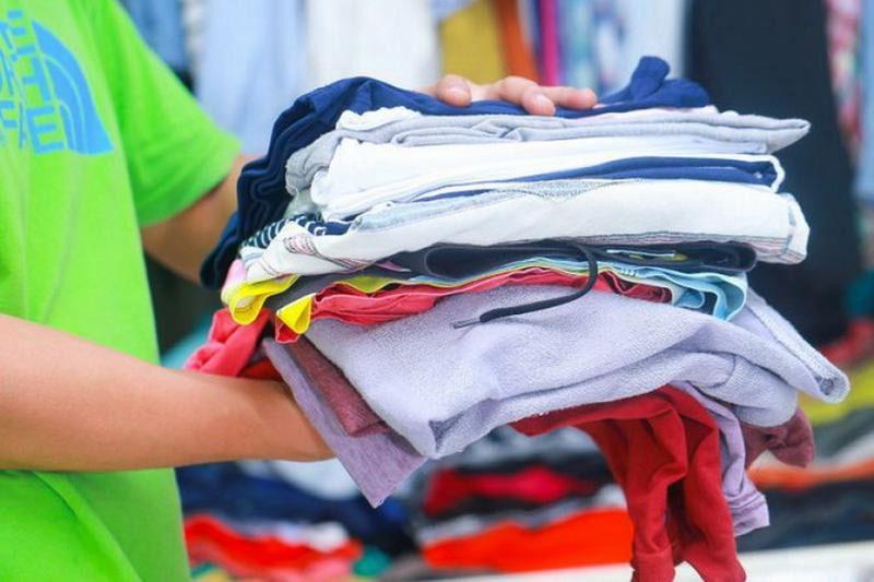 Прием одежды
