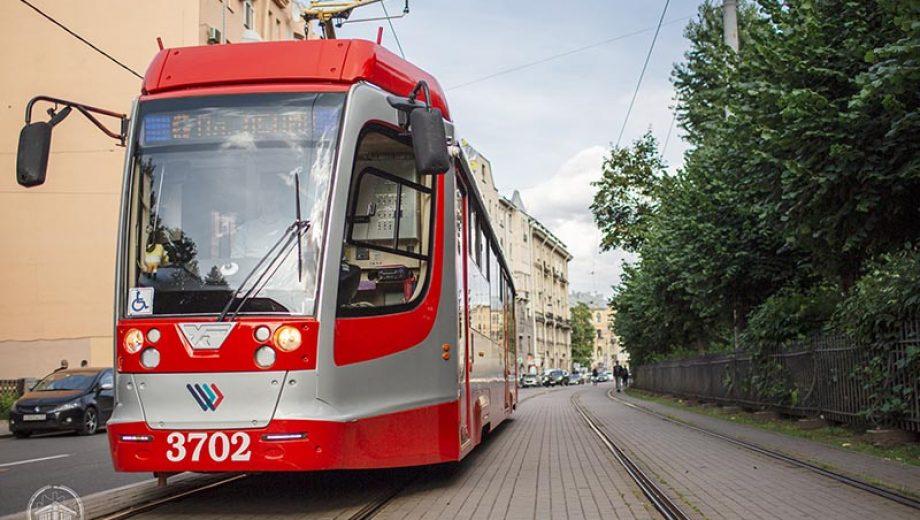 Трамвай петербург