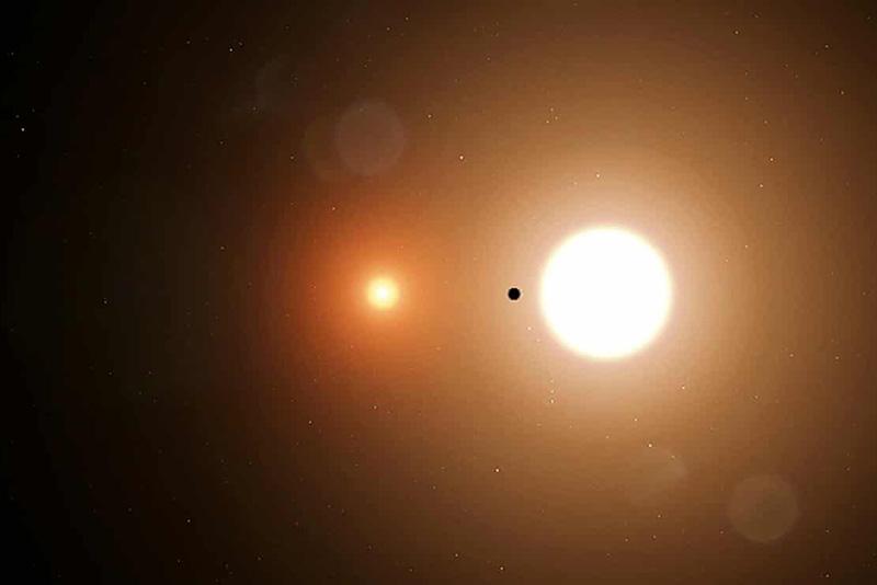 Планета два солнца