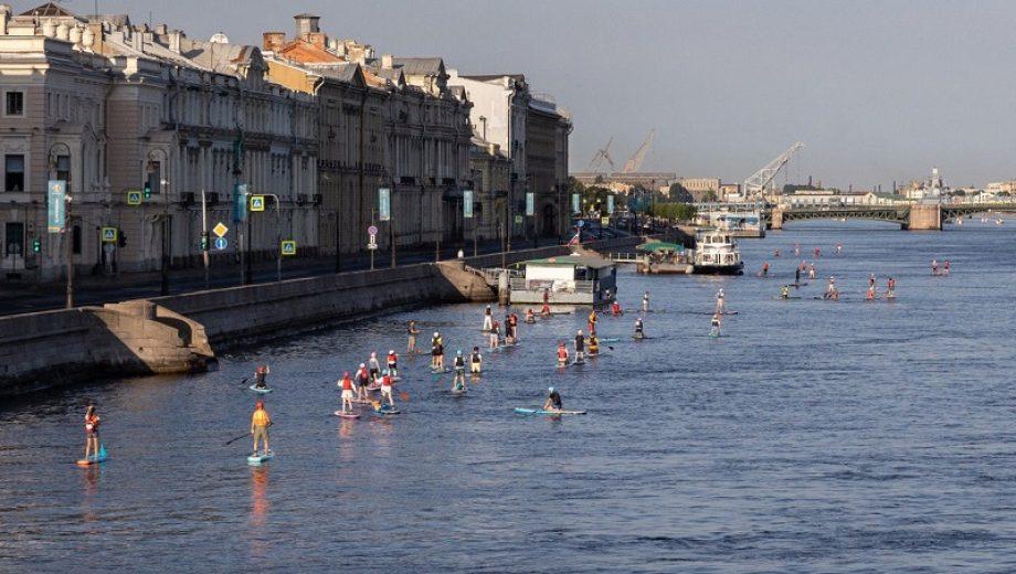 петербург река
